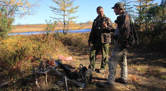 Охота на севере Сахалина на пушного зверя