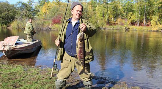 Рыболовный тур на юге Сахалина