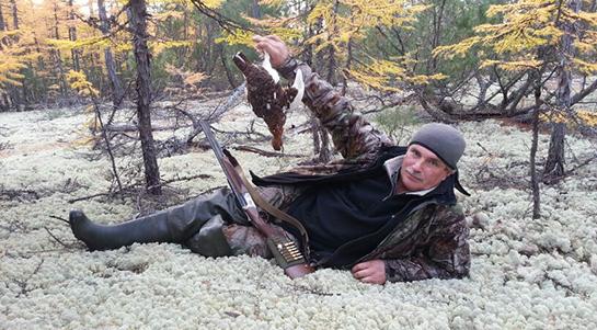 Охота на юге Сахалина на пернатую дичь